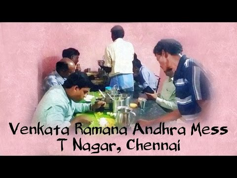 Venkata Ramana Andhra Mess, North Boag Road, T Nagar