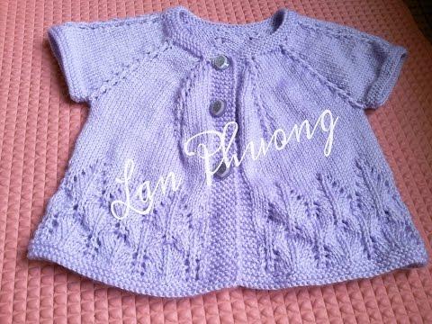 [Knitting] Part 1- Hướng dẫn đan áo cho bé kiểu 1 - Knitting sweater for baby