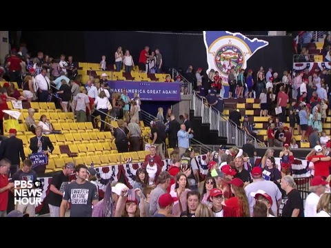 WATCH: President Trump holds rally in Duluth, MN