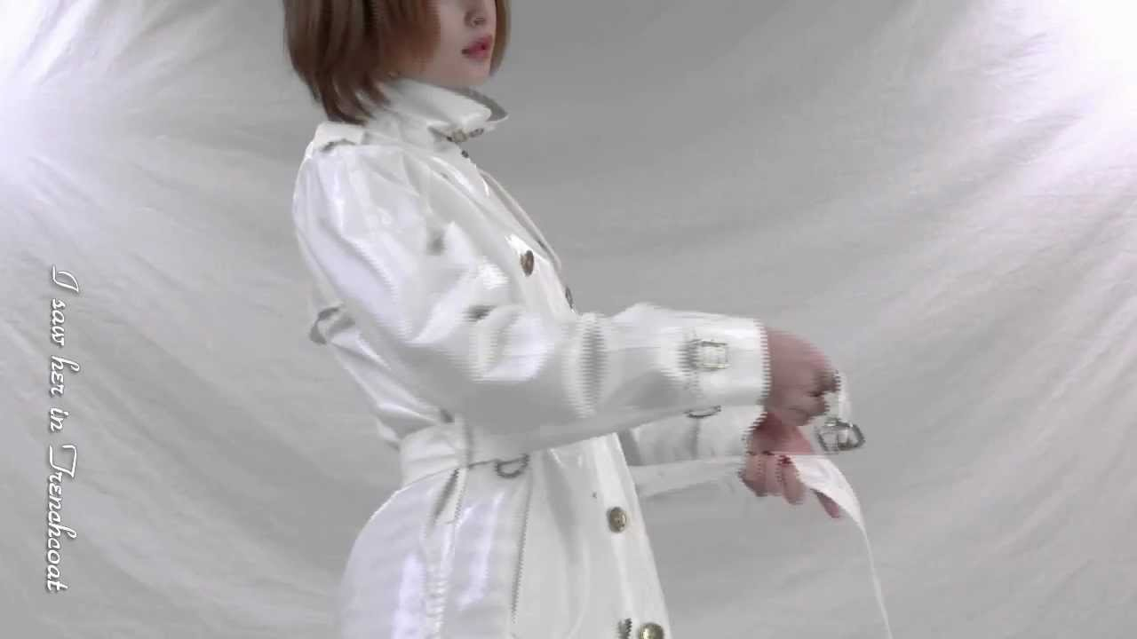 how to get wrinkles out of a raincoat