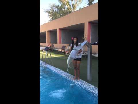 ice bucket challenge :D :D :D just for fun )