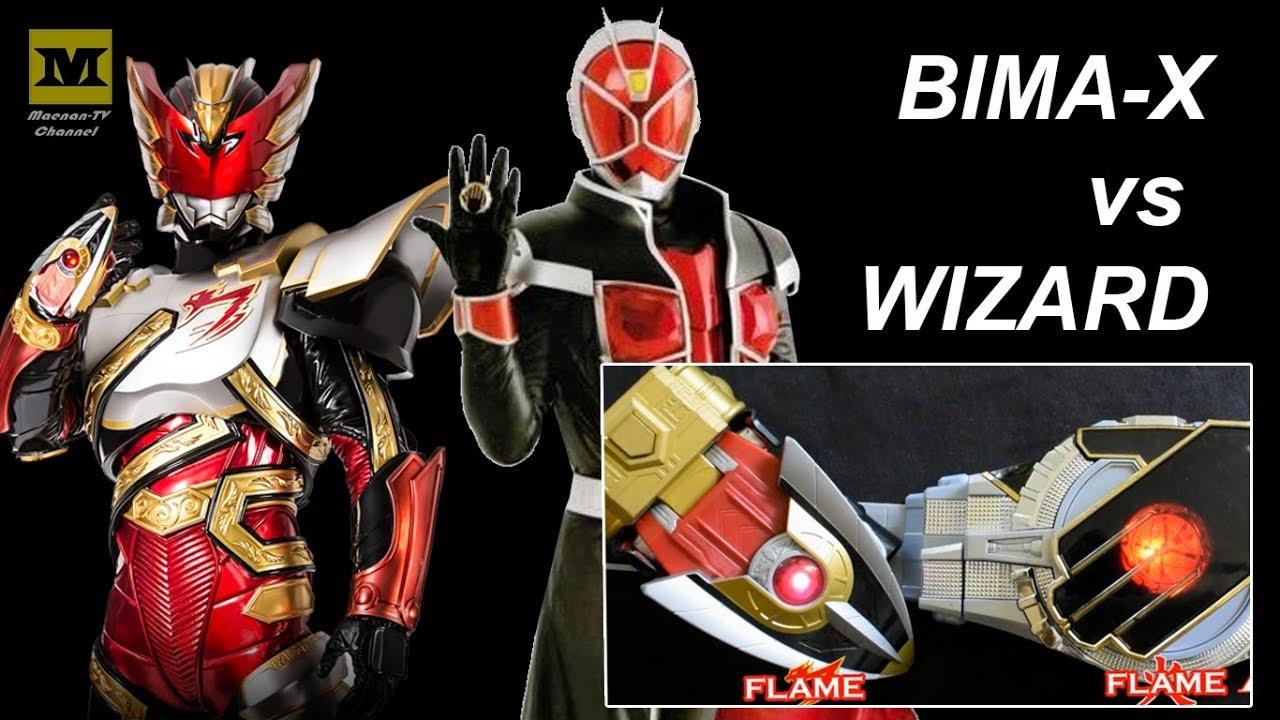 Bima-X VS WIZARD ! (DX Bima-X Changer vs Wizard Driver ...