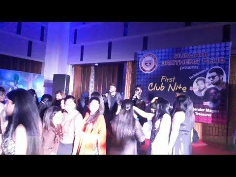 ANKYY & BALI LIVE at CRYSTAL SAROVAR || AGRA || PUNJABI BROTHERS CLUB
