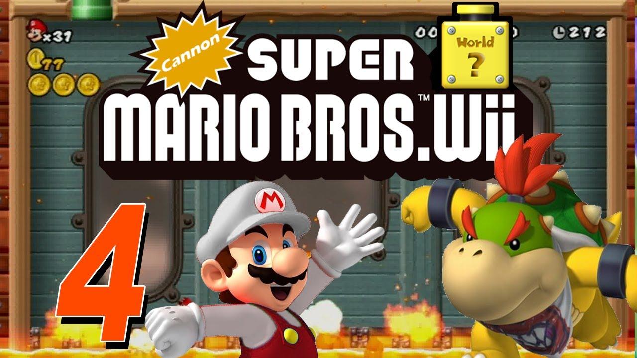 Cannon Super Mario Bros Wii Let S Play Cannon Super Mario Bros