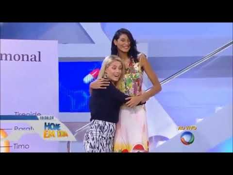 Elisany and Ana Hickmann Height Comparison