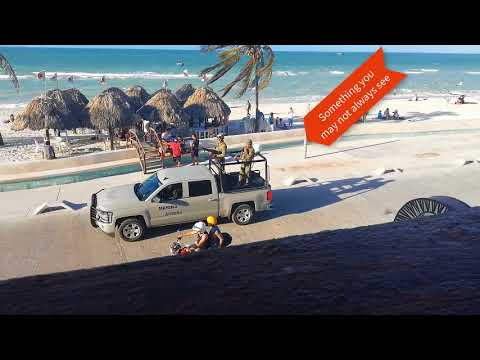 Merida Yucatan Mexico Progresso and Chelem Drone View and Information 480 version