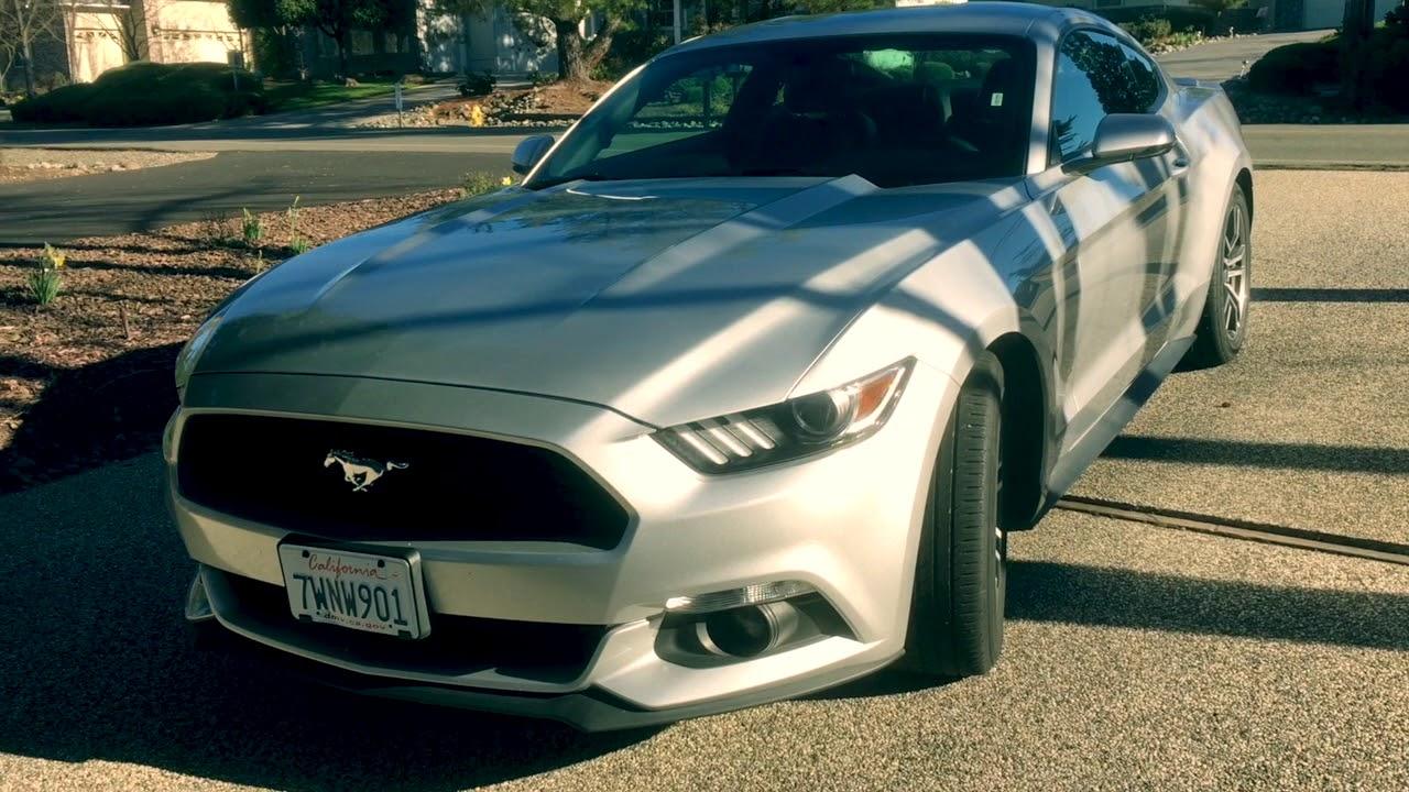 Enterprise Car Al Gave Me A 2017 Ford Mustang
