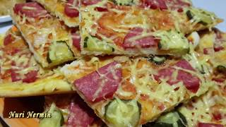 Очень вкусная домашняя пицца!!! Быстрый и легкий рецепт.