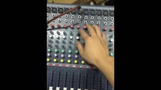Hướng dẫn chỉnh echo và giảm hú cho mixer Soundcraft EFX-8, EFX-12