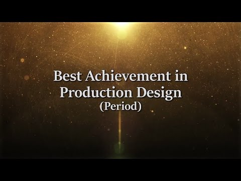 6th TFO Awards: Best Achievement in Production Design  Period