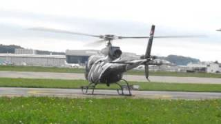 Eurocopter As 350 B2 Ecureuil takeoff