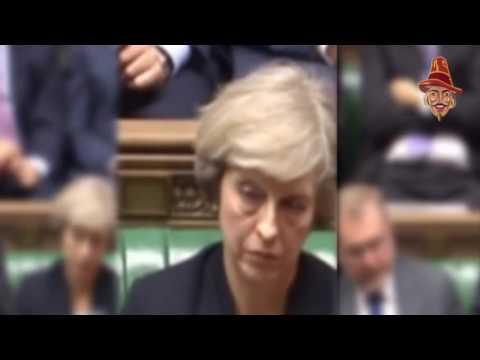 Theresa May Falls Asleep During Chilcot Statement