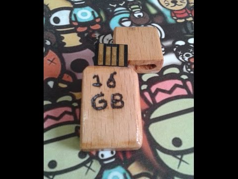 D.I.Y Custom Wooden USB Flash Drive