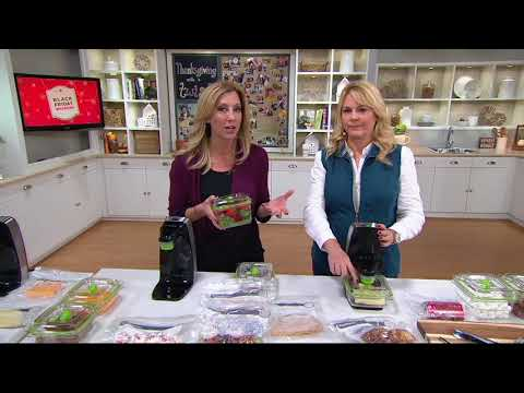 FoodSaver FreshSaver w/ Containers & Zipper Bags on QVC