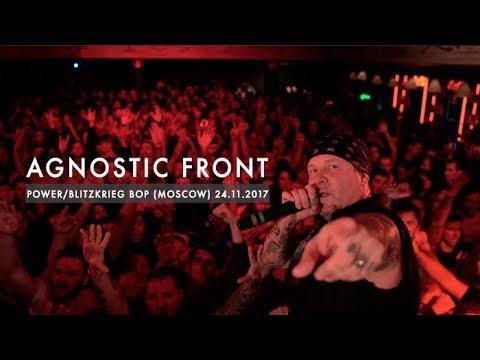 Agnostic Front - Power/Blitzkrieg Bop (Ramones cover) | Gorod, Moscow, Russia | 24.11.2017