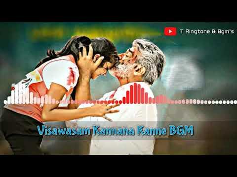 Viswasam Kannana Kanne Bgm || Viswasam Kannana Kanne Sad Bgm | Thala Viswasam Bgm |kannana Kanne Bgm