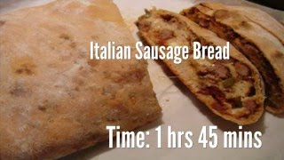 Italian Sausage Bread Recipe