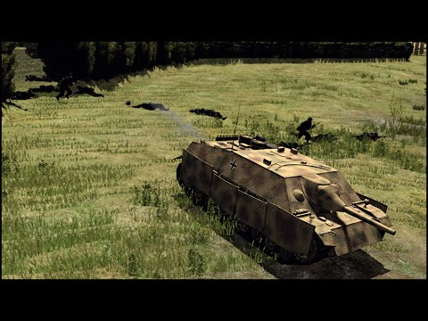 BATTLE OF BLOODY GULCH - Combat Mission: Battle for Normandy Gameplay
