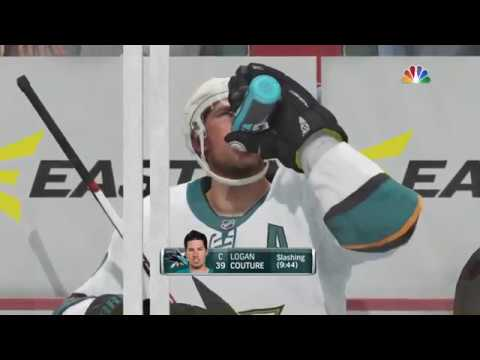 NHL® 18 San Jose Sharks vs Calgary Flames