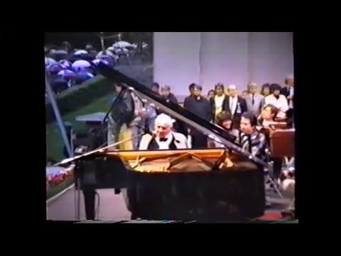Rare Footage Of Leonard Bernstein Jamming At The Waldbühne In Rainy Berlin 1989
