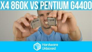 Pentium G4400 vs. Athlon X4 860K: Best Value Gaming CPU Under $100 - Q1 2016
