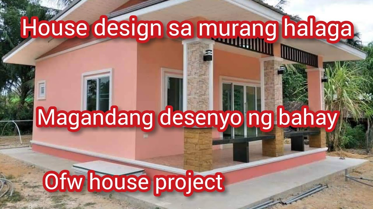 House Design Affordable Small Bungalow House Simple House Youtube