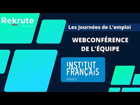 ReKrute IDAYS 2015 | WebKonférence Institut Français du Maroc