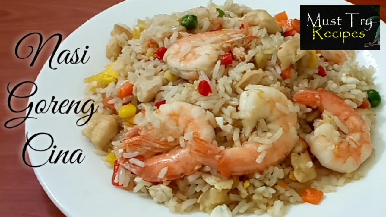 Nasi Goreng Cina Resepi Sedap dan Mudah | How to Make Chinese Fried Rice Tasty Delicious Simple