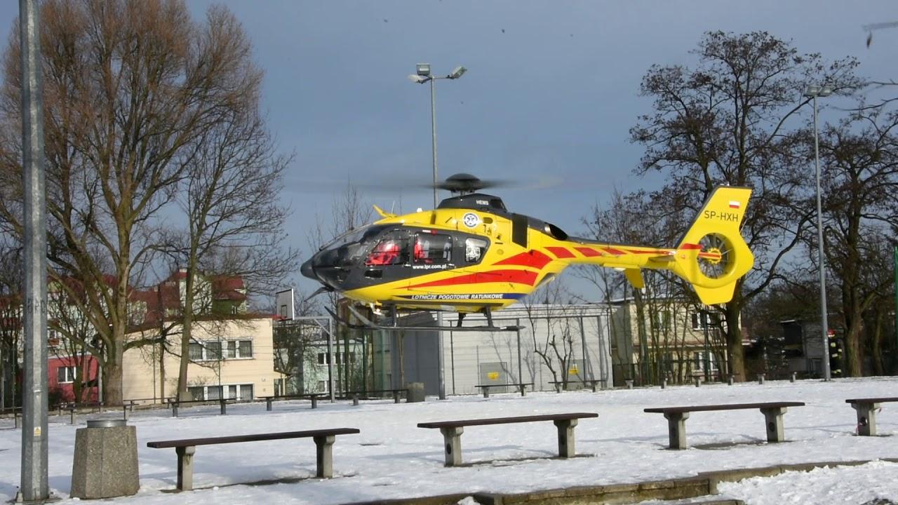 Śmigłowiec LPR lądował przy szkole w Zielonej Górze