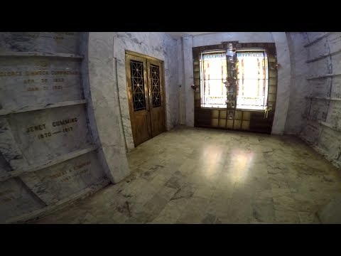 Sneaking Into A Haunted Mausoleum