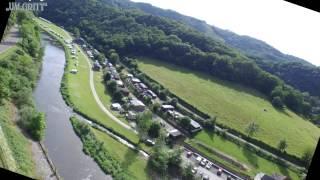 Camping Um Gritt, Luxemburg, Bourscheid.