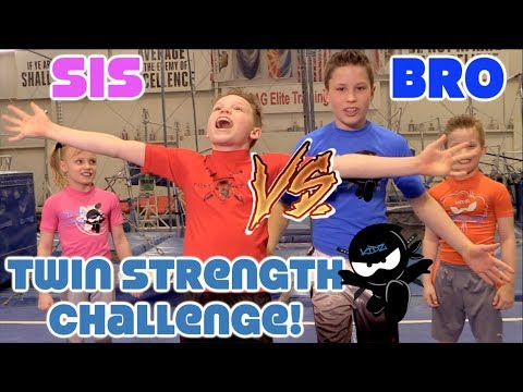 Sister Vs Brother - Twin Strength