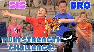 Sister vs Brother - Twin Strength thumbnail
