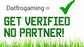 Video How To Get Verified Without A PARTNER On YouTube! 2016 download MP3, 3GP, MP4, WEBM, AVI, FLV Mei 2018