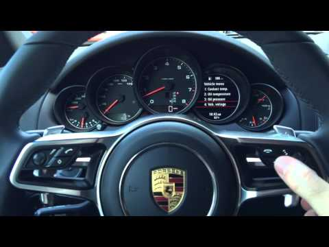 Porsche Settings And Auto Start Stop Tutorial