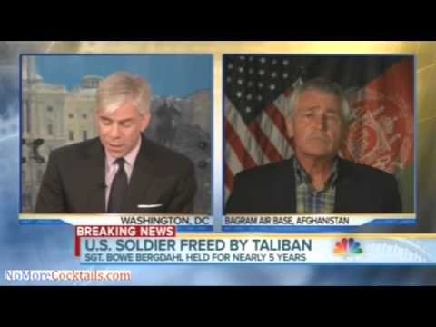 "Hagel calls Bergdahl release a"" prisoner exchange"" but US gov't doesn't classify Gitmo as POWs"