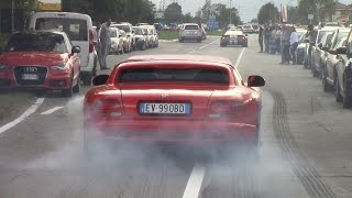 BRUTAL Dodge Viper GTS-R, GTS, RT/10 - Burnouts & Rev Battle V10 Sound!