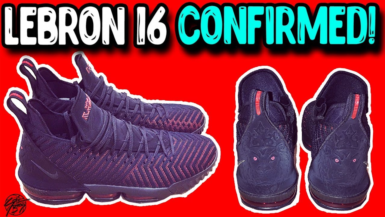 new products ba05a 9cf49 Lebron James Confirms the Nike Lebron 16!