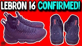 5b807064de0 Lebron James Confirms the Nike Lebron 16!