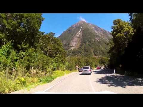 The best NZ road Milford Sound