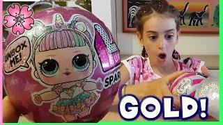 LOL SPARKLE ...FORTUNELLA! E' GOLD! Barbara e Lara Unboxing Lol Surprise