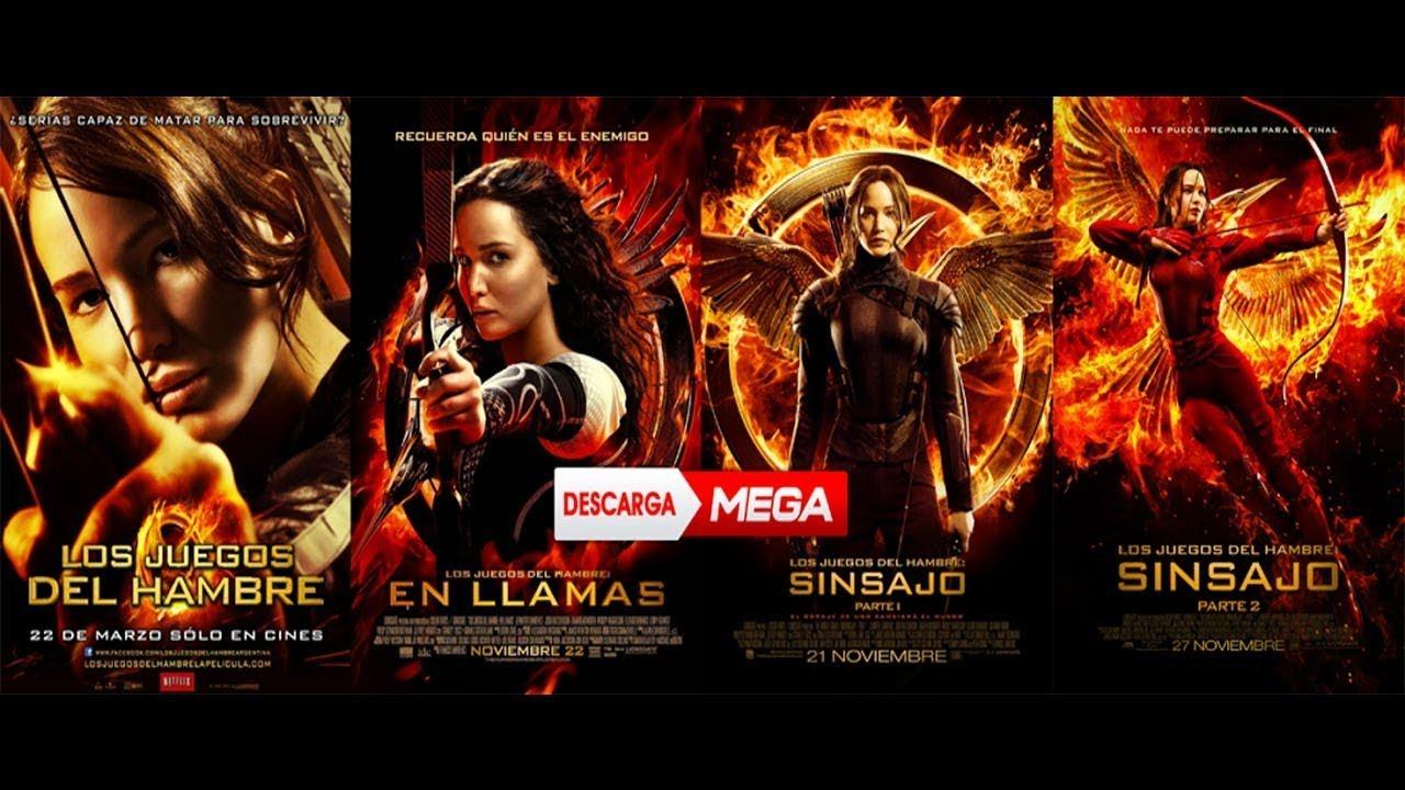 Ver Y Descargar Saga De Los Juegos Del Hambre Hd720 Latino Youtube
