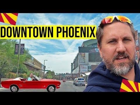 Phoenix, Arizona Tour (Downtown): Moving / Living In Phoenix, Arizona