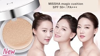 foundation demo review missha m magic cushion compact bb cream spf50