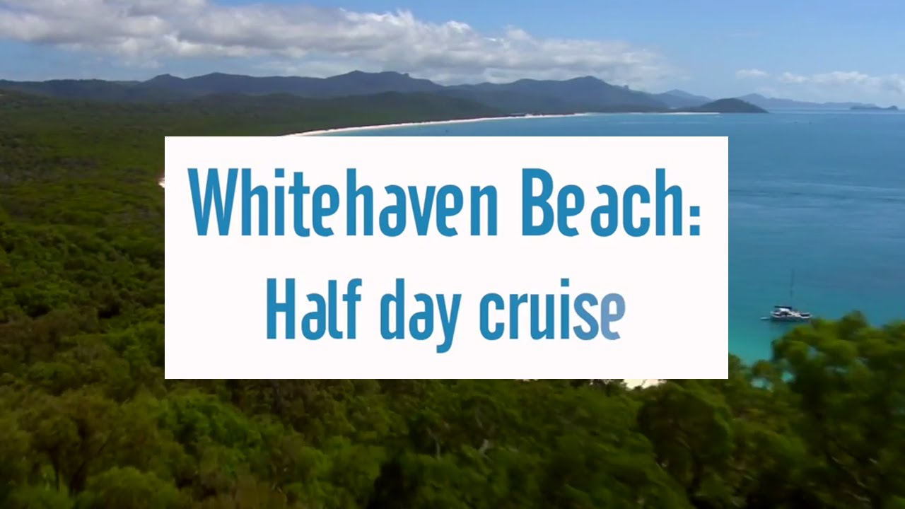 Cruise Whitsundays Whitsunday Islands & Whitehaven Beach Half Day Cruise