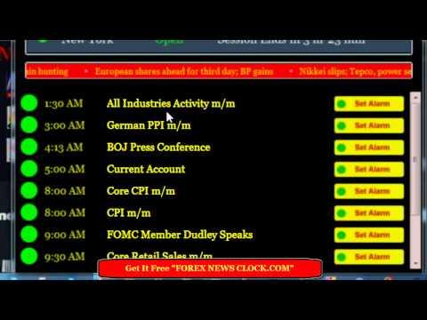 Forex News Clock.mp4