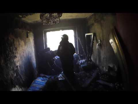 Пожар в квартире панельный дом 11 09 16