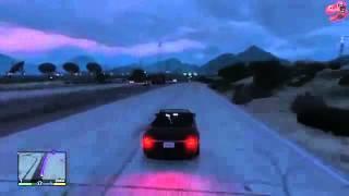 вождение мотоцикла в видео игры GTA миссия прохождение 720p