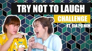 TRY NOT TO LAUGH Challenge ft RIA PD Nim || Treepotatoes Scream Reaction Video