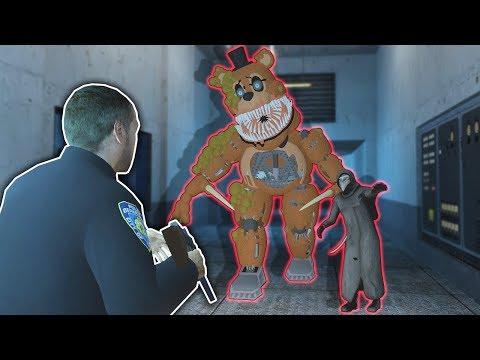 BATTLING FREDDY IN A HAUNTED LAB! - Garry's Mod Multiplayer Gameplay - FNAF Gmod Survival